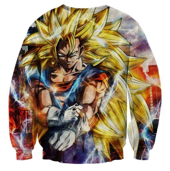 Dragon Ball Super Vegito 3 Super Saiyan Epic Kaioken Sweater
