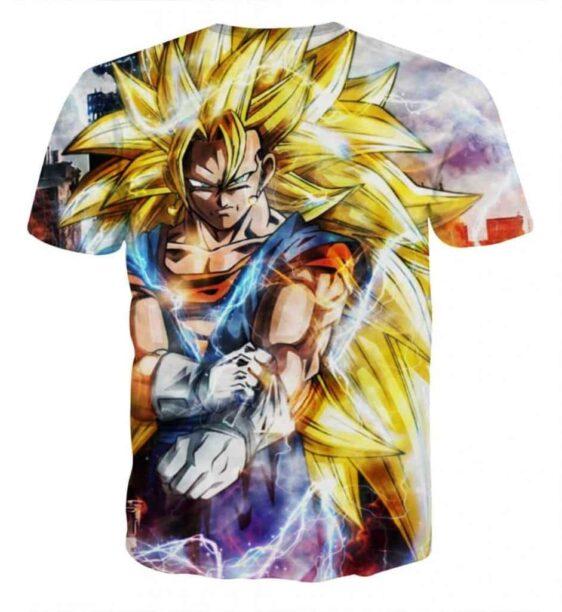 Dragon Ball Super Vegito 3 Super Saiyan Epic Kaioken T-Shirt