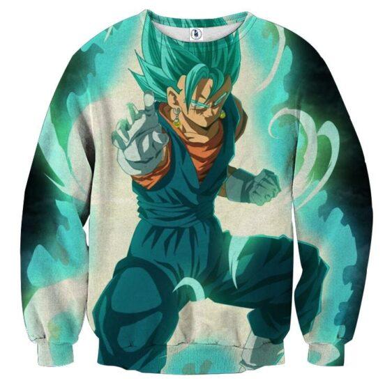 Dragon Ball Super Vegito Blue Super Saiyan Cool Sweatshirt