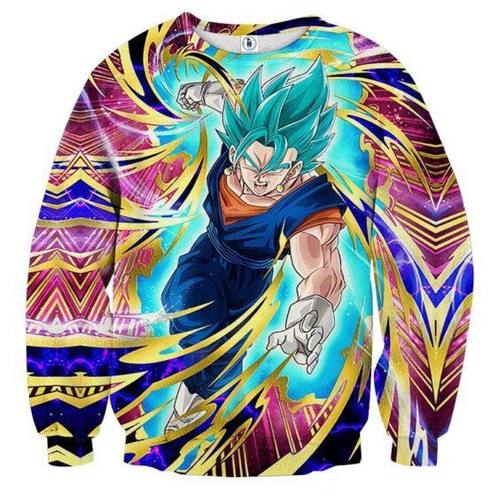 Dragon Ball Super Vegito Ultra Instinct Cool Colorful Sweater