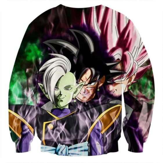 Dragon Ball Super Zamasu Goku Black Goku Rose Cool Sweatshirt