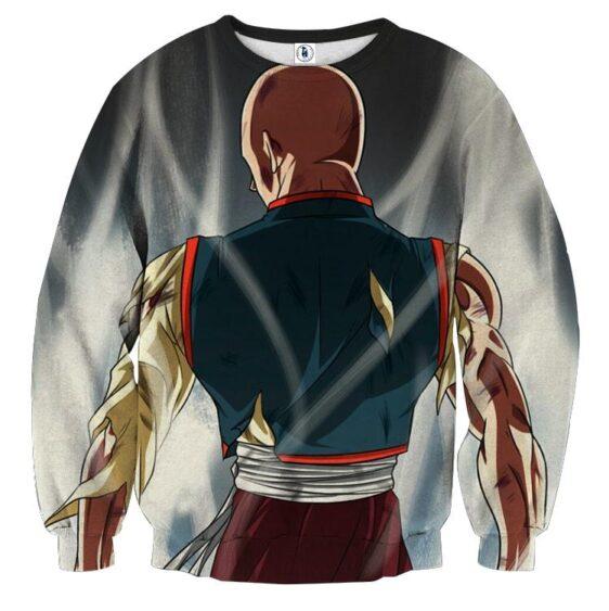 Dragon Ball Tien Shinhan Ultra Instinct Epic Back View Sweater