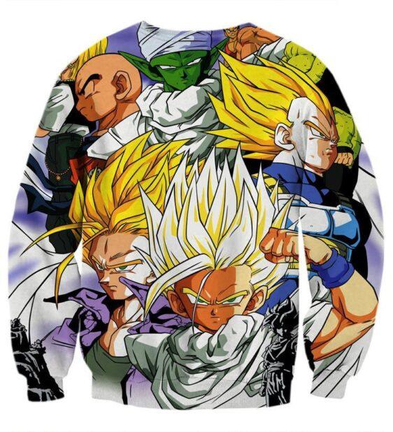 Dragon Ball Trunks Gohan Young Generation Super Saiyan Color Style Sweatshirt