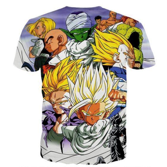 Dragon Ball Trunks Gohan Young Generation Super Saiyan Color Style T-Shirt