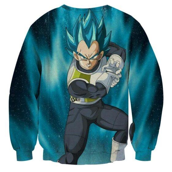 Dragon Ball Vegeta 2 Super Saiyan Kamehameha Cool Sweatshirt