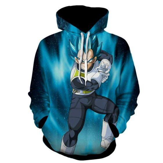 Dragon Ball Vegeta 2 Super Saiyan Kamehameha Cool Hoodie