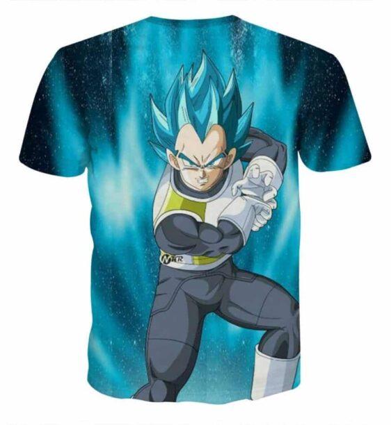 Dragon Ball Vegeta 2 Super Saiyan Kamehameha Wave Cool T-Shirt