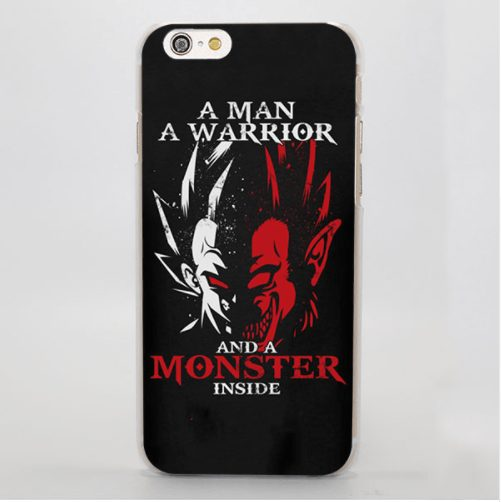 Dragon Ball Vegeta Great Ape Monster Within Dope iPhone 4 5 6 7 8 Plus X Case