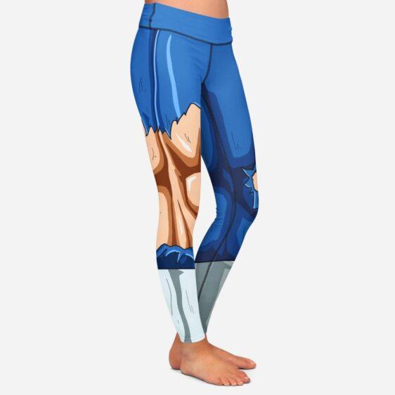 Dragon Ball Vegeta Women Cosplay Damaged Leggings Yoga Pants