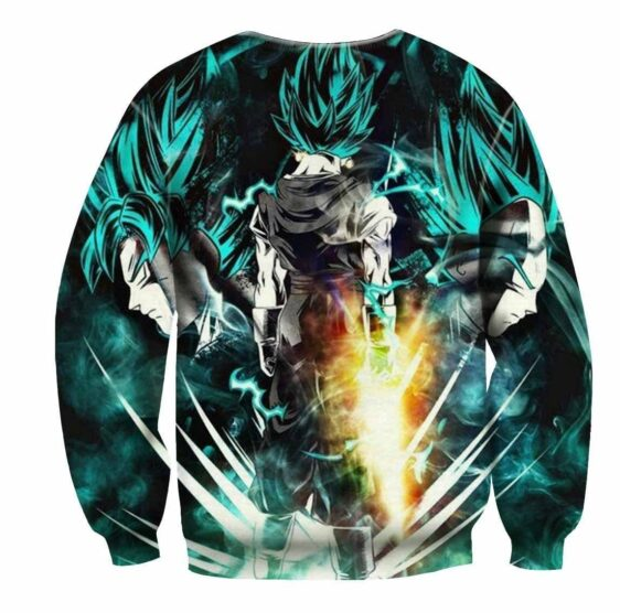 Dragon Ball Vegeto Super Saiyan Power Up Potara Fusion Dope Sweatshirt