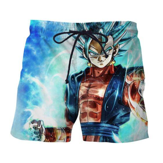 Dragon Ball Vegito 2 Blue Super Saiyan Kaioken Cool Boardshorts
