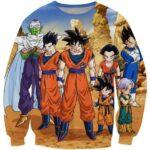 Dragon Ball Z-Fighters Team Earth's Special Forces Sweatshirt - Saiyan Stuff