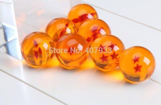 Dragon Ball Z 7 Stars Crystal Balls Set 7 Pcs - Saiyan Stuff