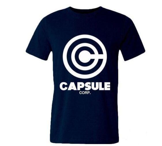 Dragon Ball Z Capsule Corp Casual Men T-Shirt - Saiyan Stuff
