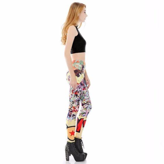Dragon Ball Z Characters Women Compression Fitness Leggings Tights - Saiyan Stuff - 5