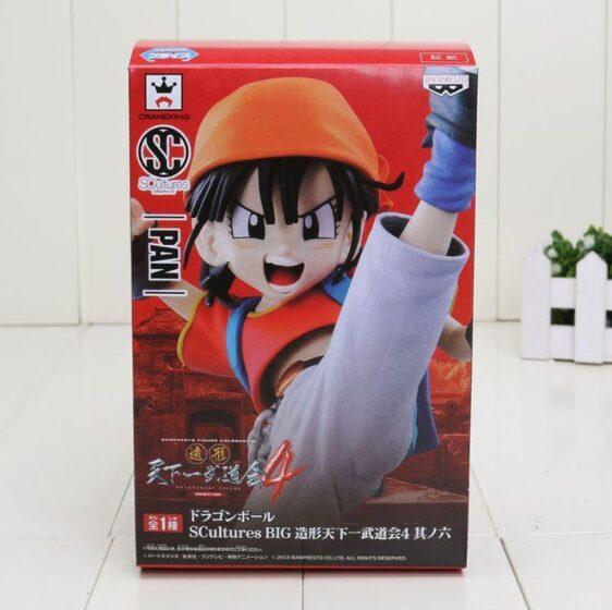 Dragon Ball Z Cool Pan Character Collectible PVC Action Figure 18cm - Saiyan Stuff - 6