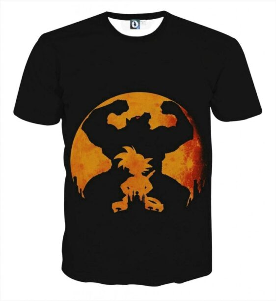 Dragon Ball Z Cool Shadow Kid Goku Great Ape Evolution T-Shirt