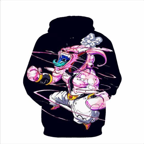 Dragon Ball Z DBZ Super Mad Kid Buu Graffiti Style Pullover Hoodie - Saiyan Stuff - 3