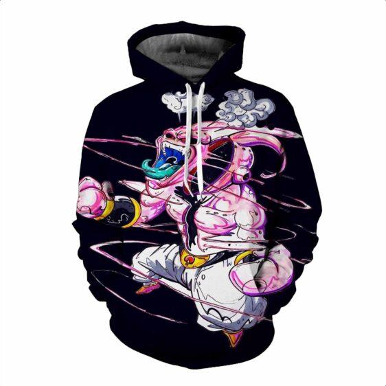 Dragon Ball Z DBZ Super Mad Kid Buu Graffiti Style Pullover Hoodie - Saiyan Stuff - 4