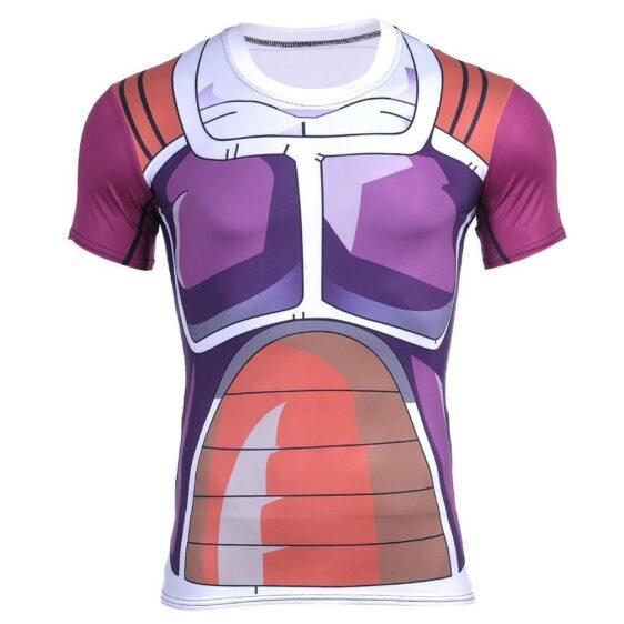 Dragon Ball Z Frieza Battle Armor Compression 3D Cosplay T-Shirt