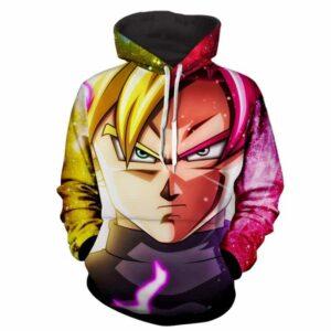 Dragon Ball Z Goku Rose & Super Saiyan 2 Formation Hoodie