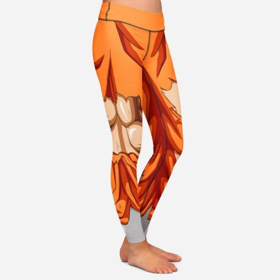 Dragon Ball Z Goku Women Cosplay Damaged Leggings Yoga Pants