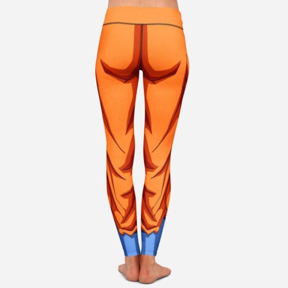 Dragon Ball Z Goku Women Cosplay Orange Leggings Yoga Pants