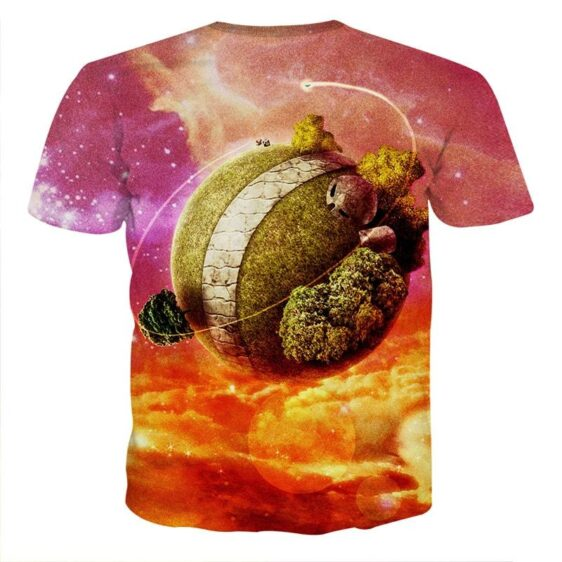 Dragon Ball Z Great King Kai Planet Cool Orange T-Shirt