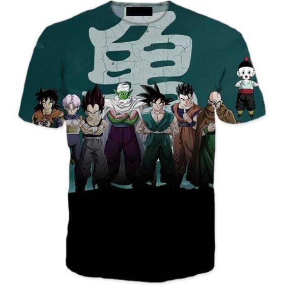 Dragon Ball Z Heroes Dark Black Badass 3D T-Shirt - Saiyan Stuff