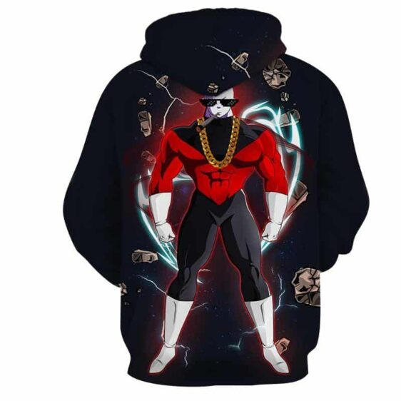Dragon Ball Z Jiren The Gray In His Luxurious Outfit Hoodie
