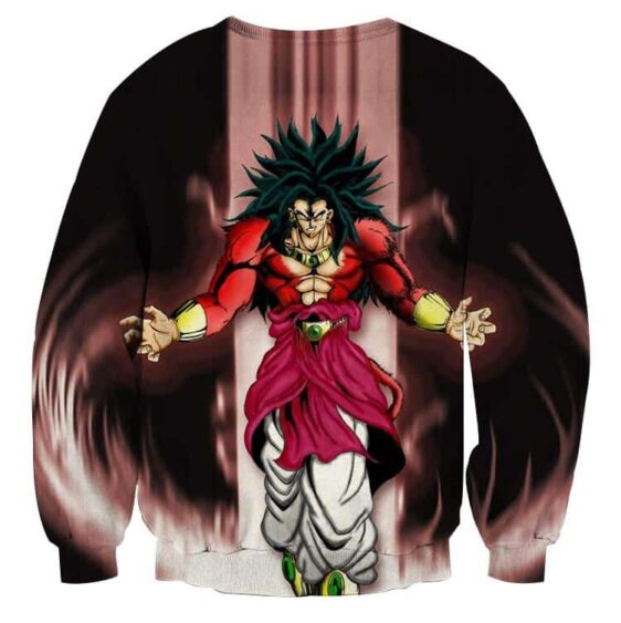 Dragon Ball Z Legendary Super Saiyan Broly 4 Dope Aura Sweater