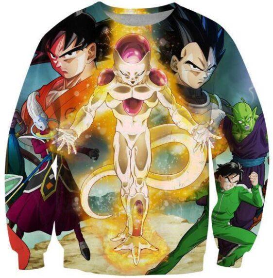 Dragon Ball Z Resurrection 'F' Return of Frieza Sweatshirt - Saiyan Stuff