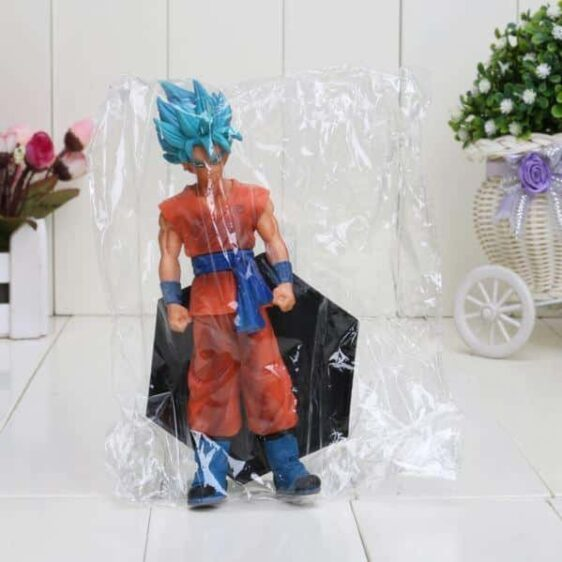Dragon Ball Z Resurrection F Super Saiyan Blue Son Goku Action Figure 7' 18cm - Saiyan Stuff