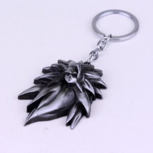 Dragon Ball Z SSJ3 Super Saiyan 3 Son Goku Metal Keychain Keyring - Saiyan Stuff - 2
