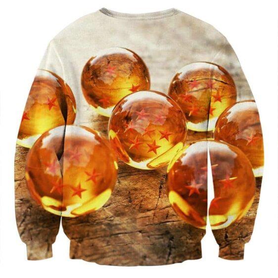 Dragon Ball Z Shenron Dope 7 Stars Crystal Balls Set Sweater