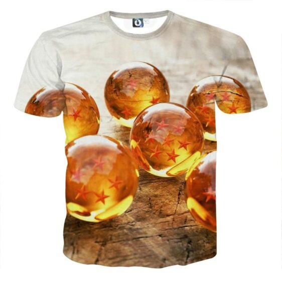 Dragon Ball Z Shenron Dope 7 Stars Crystal Balls Set T-Shirt
