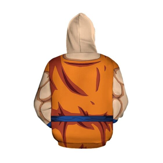 Dragon Ball Super Goku Whis Training Outfit Cosplay Hoodie