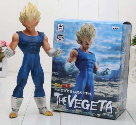 Dragon Ball Z Super Saiyan Vegeta Blue Costume PVC Action Figure - Saiyan Stuff