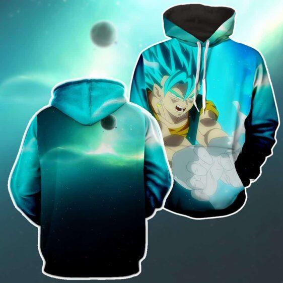Dragon Ball Z Super Saiyan Vegito Releasing Kamehameha Hoodie