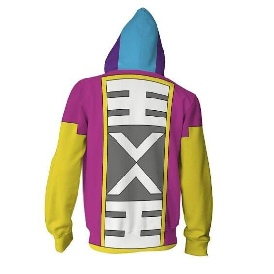 DBZ The Epic Cape Costume Of Grand Zeno Cosplay Hoodie