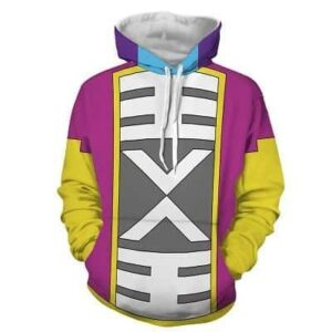 DBZ The Epic Cape Costume Of Grand Zeno Cosplay Hoodie