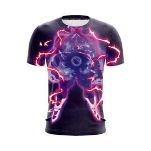 Dragon Ball Z Toppo In His Horrifying Aura Violet T-Shirt