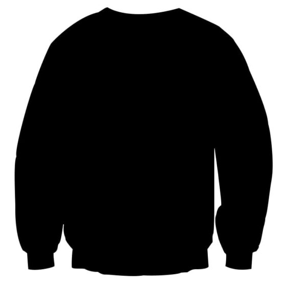 Dragon Ball Z Vegeta Shadow Cool Red Vegeta Symbol Sweater