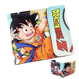 Dragon Ball Z Young Goku Shenron Blue Wallet - Saiyan Stuff