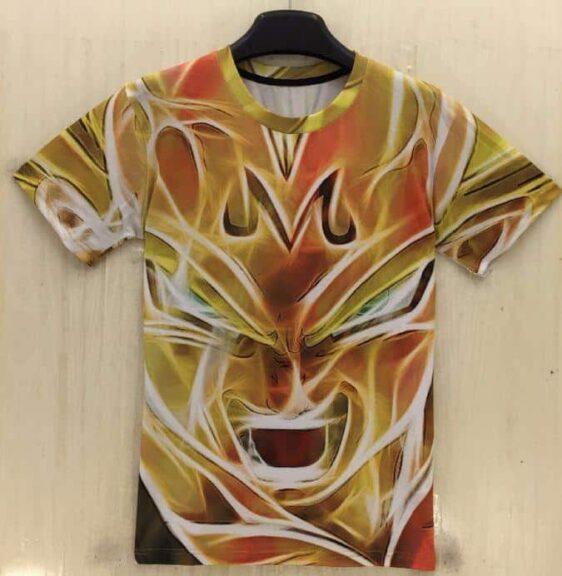 Dragon Ball Z - Super Saiyan Majin Vegeta 3D T-Shirt - Saiyan Stuff