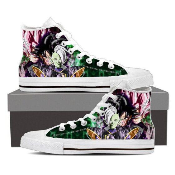 Dragon Ball Zamasu Goku Black Super Saiyan Rose Dope Style Sneaker Shoes