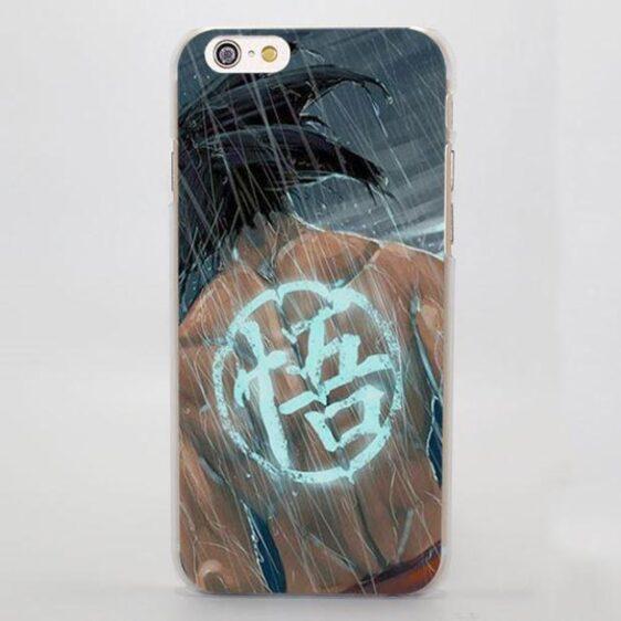 Go Symbol Kanji Goku under the Rain iPhone 5 6 7 Plus Case