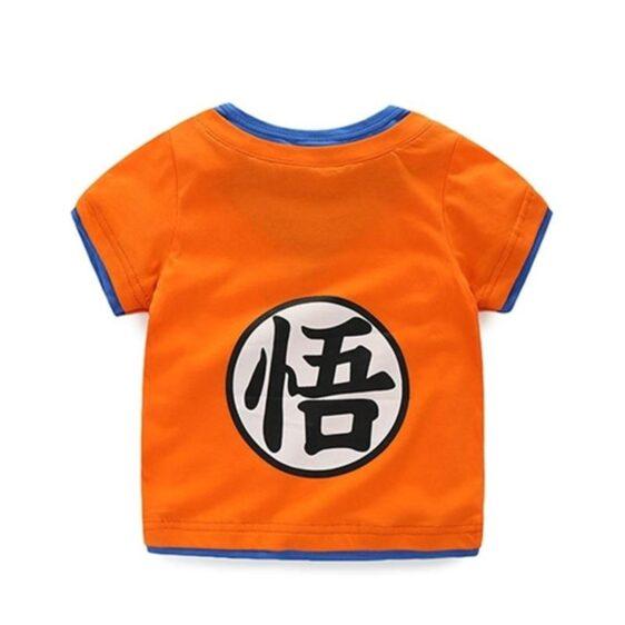 Dragon Ball Z Son Goku's Kanji Symbol Cosplay Kids T-Shirt