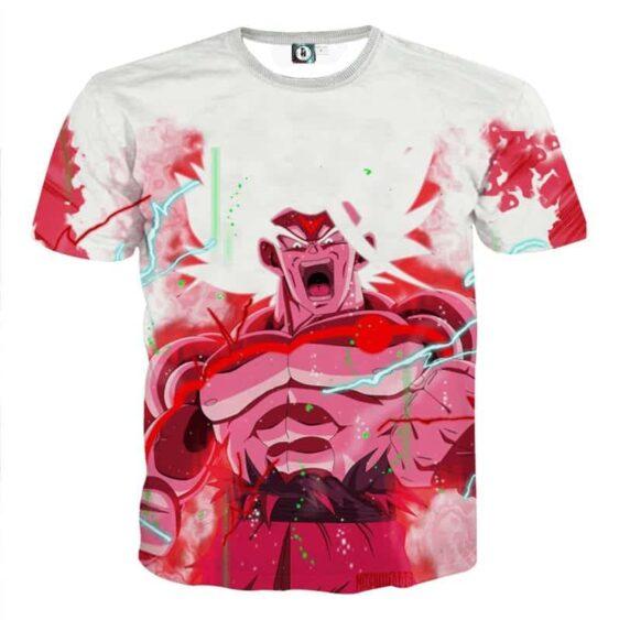 Goku Super Saiyan White Omni God Transformation T-Shirt