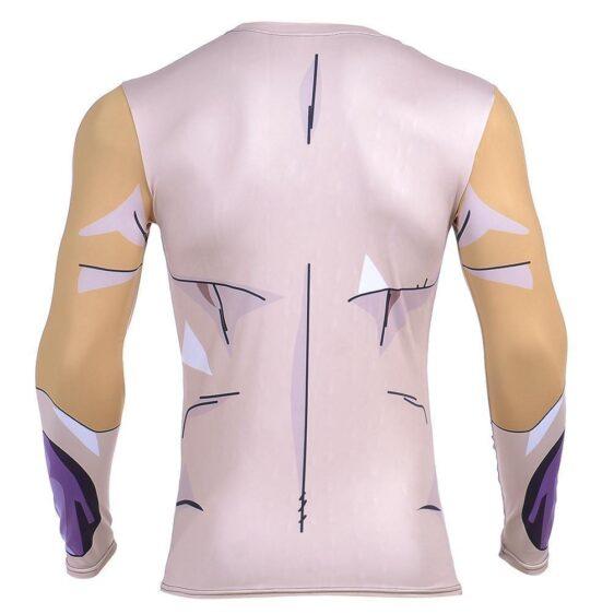 Golden Frieza Ultimate Evolution Armor 3D Gym Compression T-Shirt